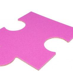 Zewnętrzny RÓŻOWY puzzel korkowy P2 8x300x420mm
