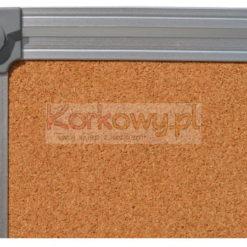 Tablica korkowa 100x245cm w ramie aluminiowej DecoLine