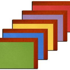 Tablica korkowa 120x140cm kolorowa w oprawie MDF Calvados